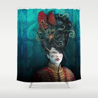 Queen Of The Wild Fronti… Shower Curtain