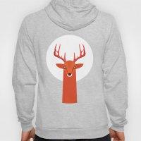 Deer and Moon Hoody