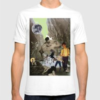 Dancing Cave Mens Fitted Tee White SMALL