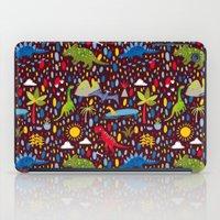 Dinosaur Repeat iPad Case