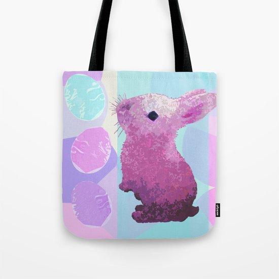 Peepster Bunny Tote Bag