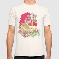 Flesh illustration Mens Fitted Tee Natural SMALL