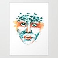 Alcedo Atthis II Art Print