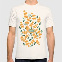 Birdie Bird Mens Fitted Tee Natural SMALL