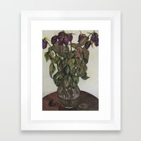 Leaves of Life Framed Art Print