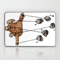 The Five Dancing Skulls … Laptop & iPad Skin