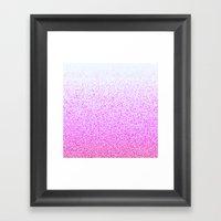 I Dream in Pink Framed Art Print