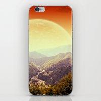 Highland Sunset  iPhone & iPod Skin
