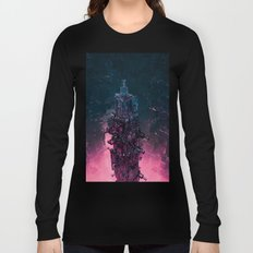 The Technocore / 3D render of futuristic structure Long Sleeve T-shirt