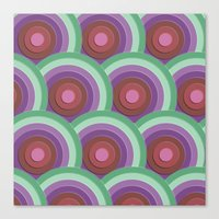 concentric Canvas Print