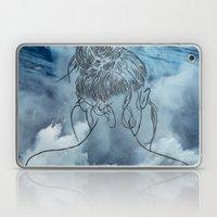 Lonely woman Laptop & iPad Skin