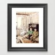 I Remember Framed Art Print