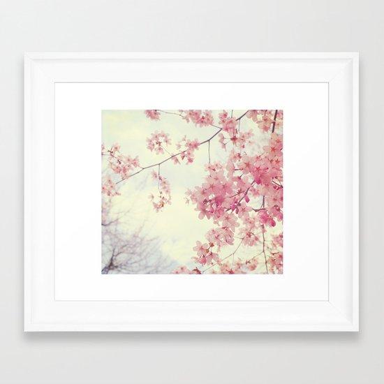 Dreams In Pink Framed Art Print