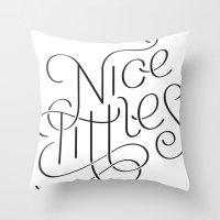 Nice tittles!!! Throw Pillow