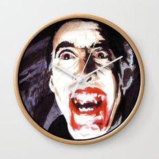 The Horror of Dracula Wall Clock