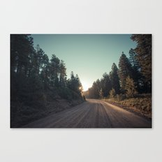 Sitgreaves Sunrise Canvas Print