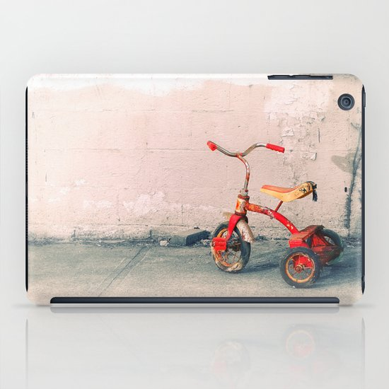 Childs Vintage Tricycle iPad Case