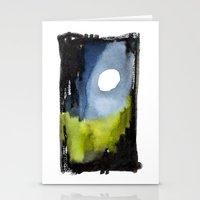 Night Path Stationery Cards