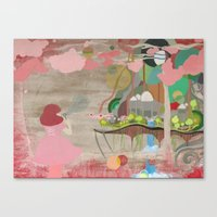 Bubblelandia Canvas Print