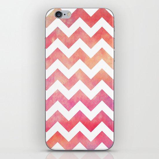 Watercolor Chevron. iPhone & iPod Skin