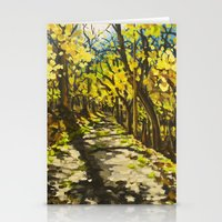 C&O Canal Towpath, November Stationery Cards