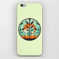iPhone & iPod Skin featuring Acquario by Freshinkstain