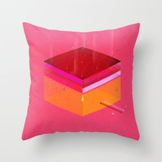 Toast: Facebook Shapes & Statuses Throw Pillow