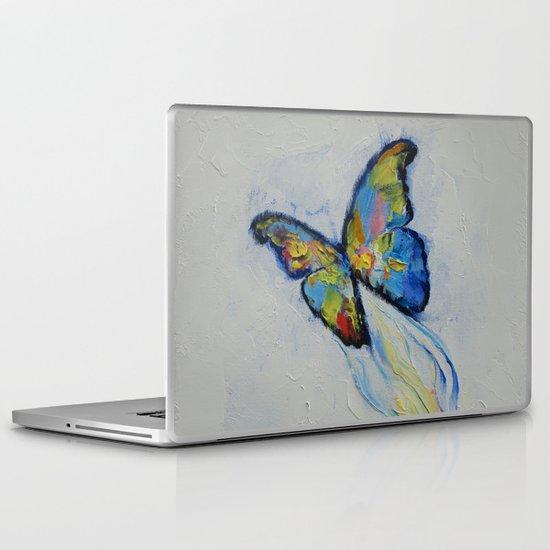 Opal Butterfly Laptop & iPad Skin