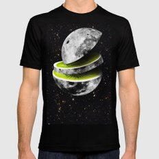 Kiwi Moon SMALL Black Mens Fitted Tee