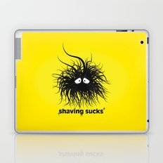 SHAVING SUCKS Laptop & iPad Skin