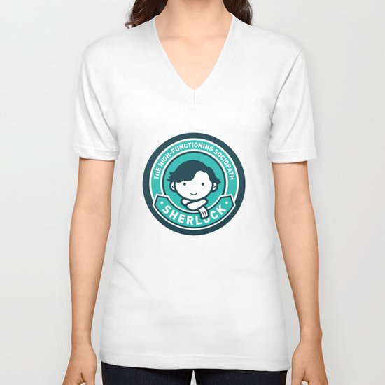 Sherlock V-neck T-shirt