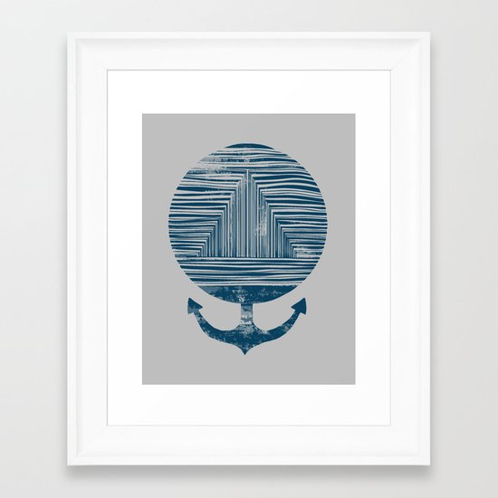 Deep End Framed Art Print
