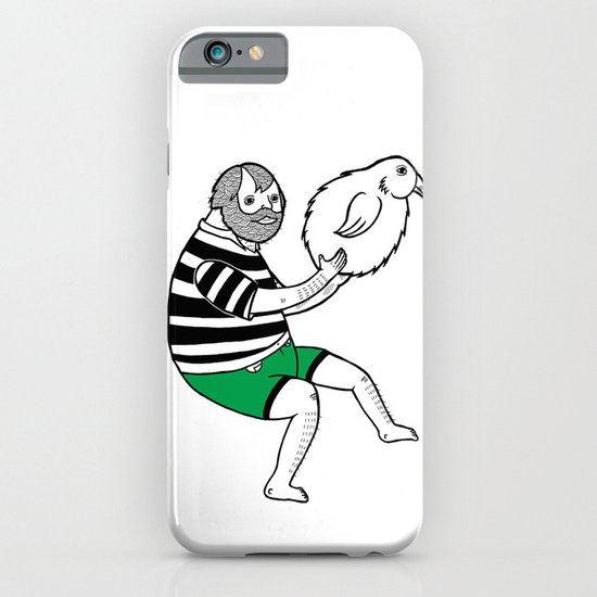 On the strange and controversial topic of bird bowling iPhone & iPod Case