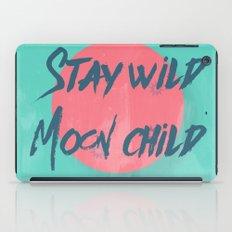 Stay wild moon child (tuscan sun) iPad Case