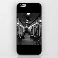 New York Subway Car #2 iPhone & iPod Skin