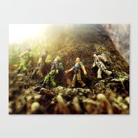 The March Canvas Print