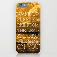 iPhone & iPod Case featuring Wake Up Sleeper by rollerpimp