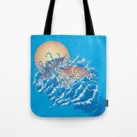 The Lost Adventures of Captain Nemo Tote Bag