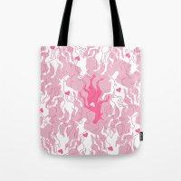 Unicorn Love Finds You Tote Bag