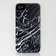 Real Marble Black iPhone (4, 4s) Slim Case