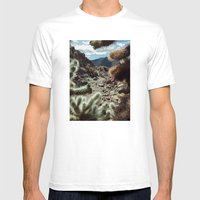 Cholla Frame Mens Fitted Tee White SMALL