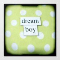 Dream boy Canvas Print