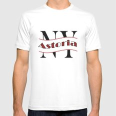 Astoria SMALL White Mens Fitted Tee