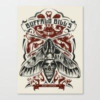 Buffalo Bill Lotion Poster Canvas Print