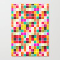 Colorful Rectangles Canvas Print