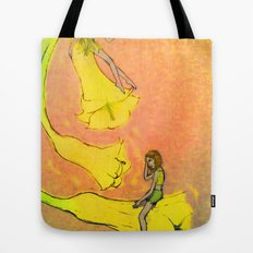 Laughing Flowers Tote Bag