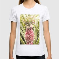 Aloha! Womens Fitted Tee Ash Grey SMALL