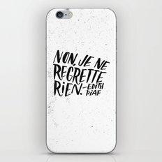 Edith Piaf iPhone & iPod Skin