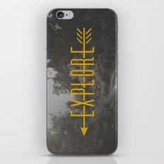 Explore (Arrow) iPhone & iPod Skin
