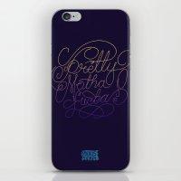 Stay Pretty iPhone & iPod Skin